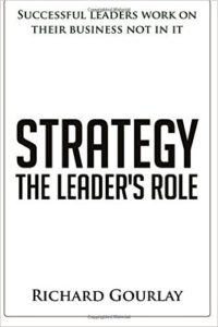 Values matter in business more than ever before, red more in Strategy The Leader's Role by Richard Gourlay is a book about business strategy for leaders to grow and develop their strategic plan for their business.